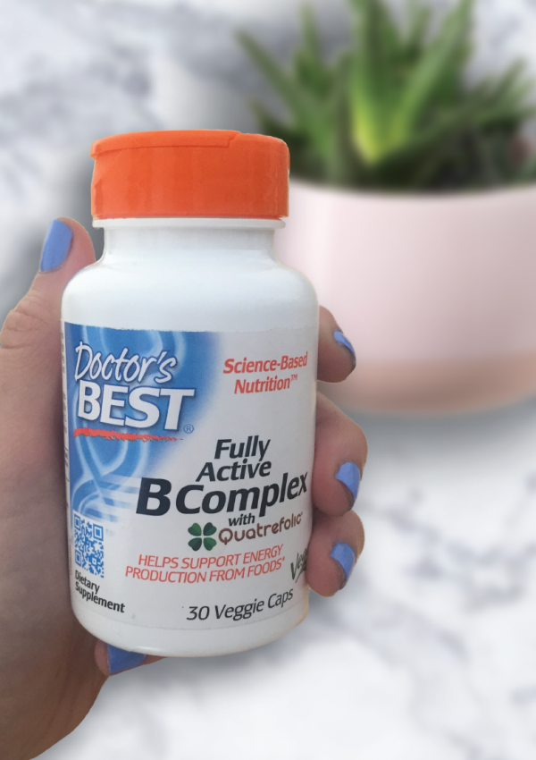 We Love Fully Active B Complex By Doctor's Best Vitamins