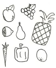 low histamine diet drawing