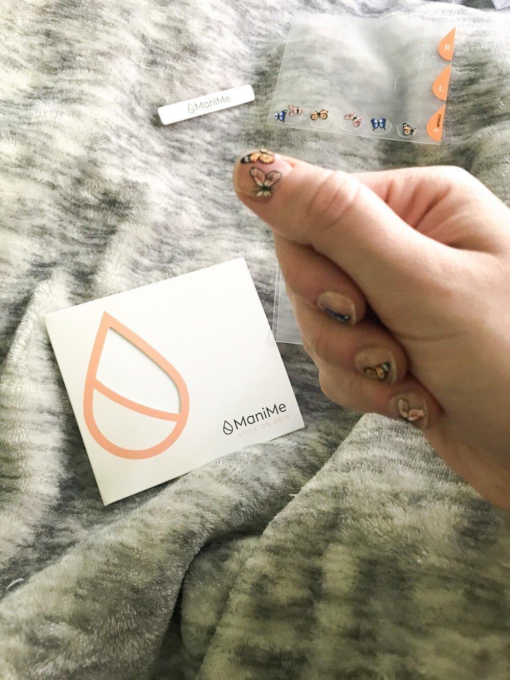 Em's nail design choice