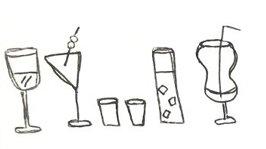 doodle of food