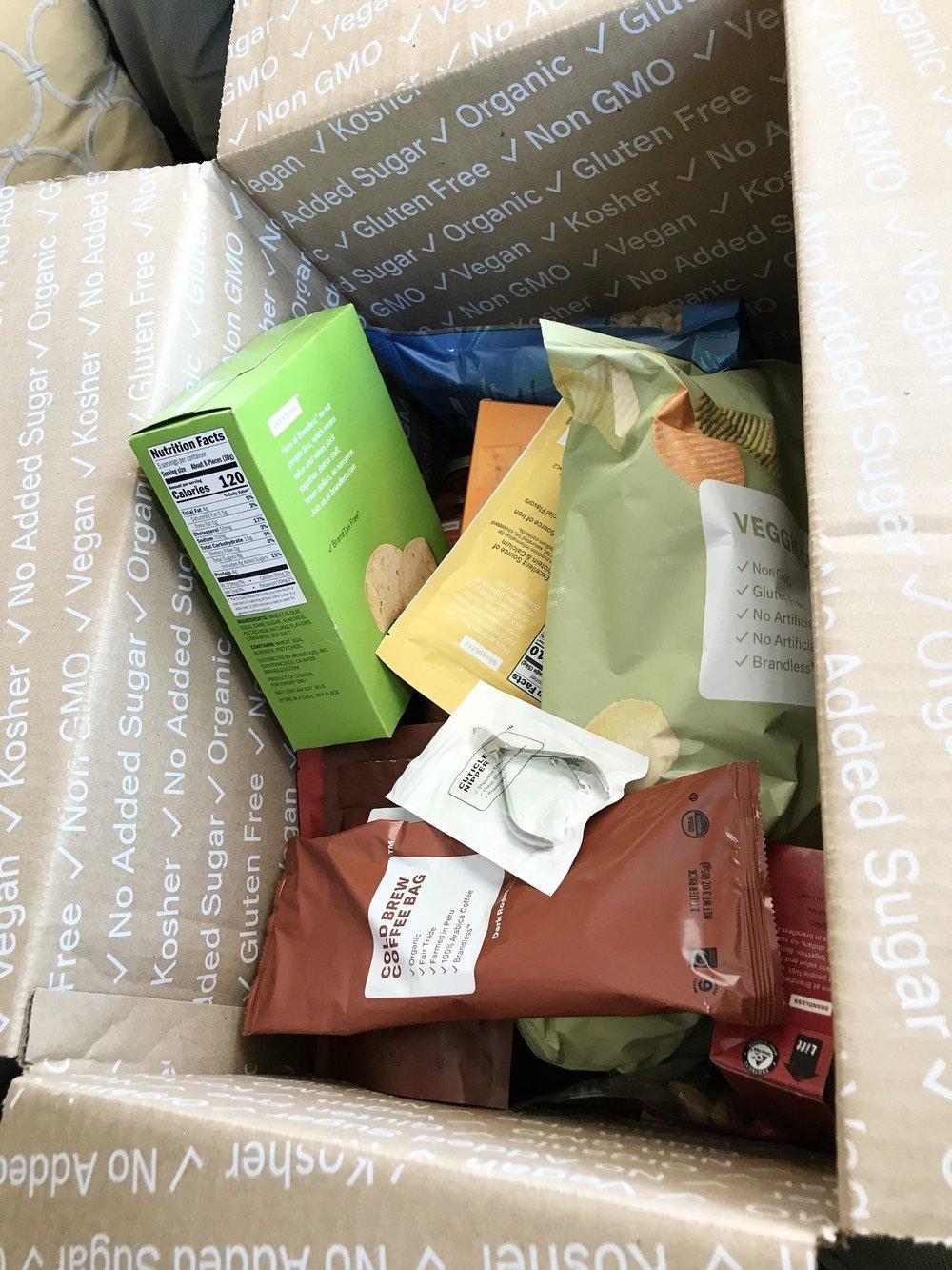 food delivery services - brandies