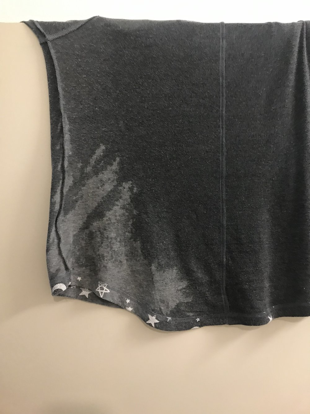 This was my top after my first session! Wet with sweat.
