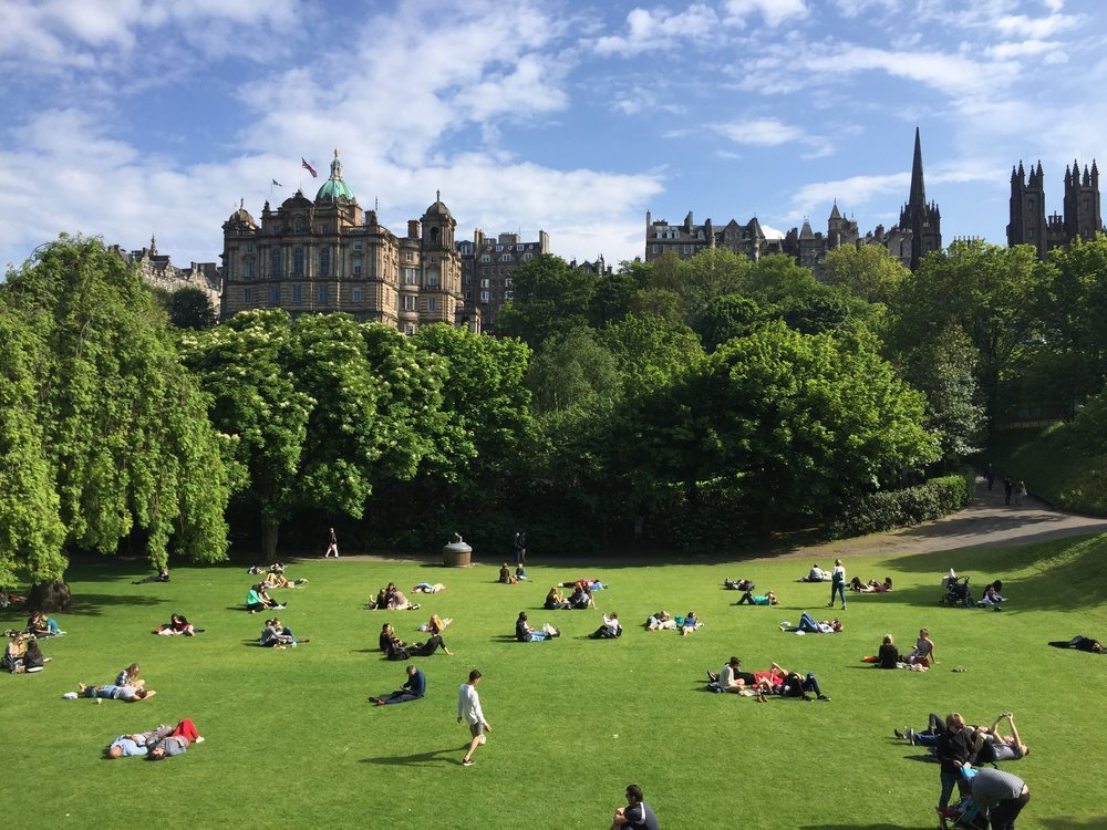 Scotland  trip to europe