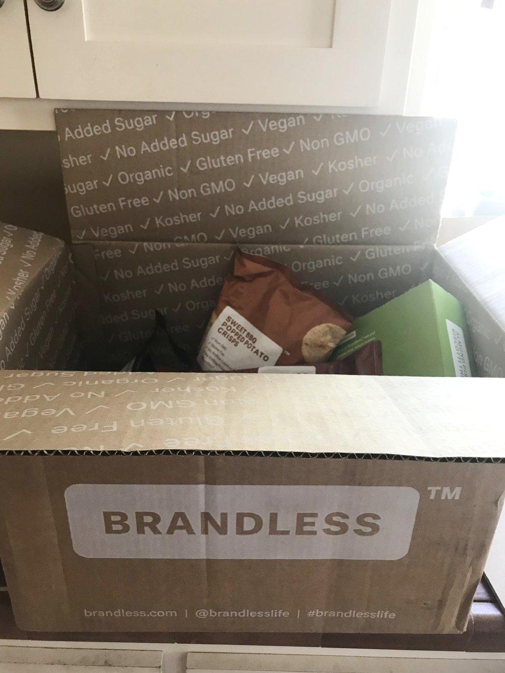 brandless package