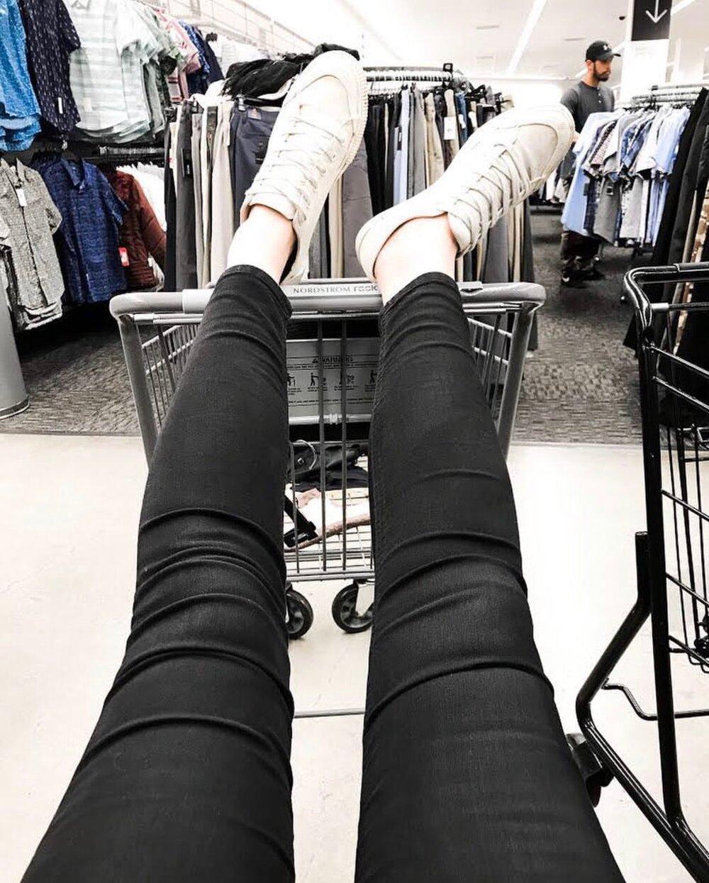 Feet up