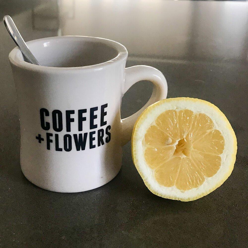 fight off sickness lemon water
