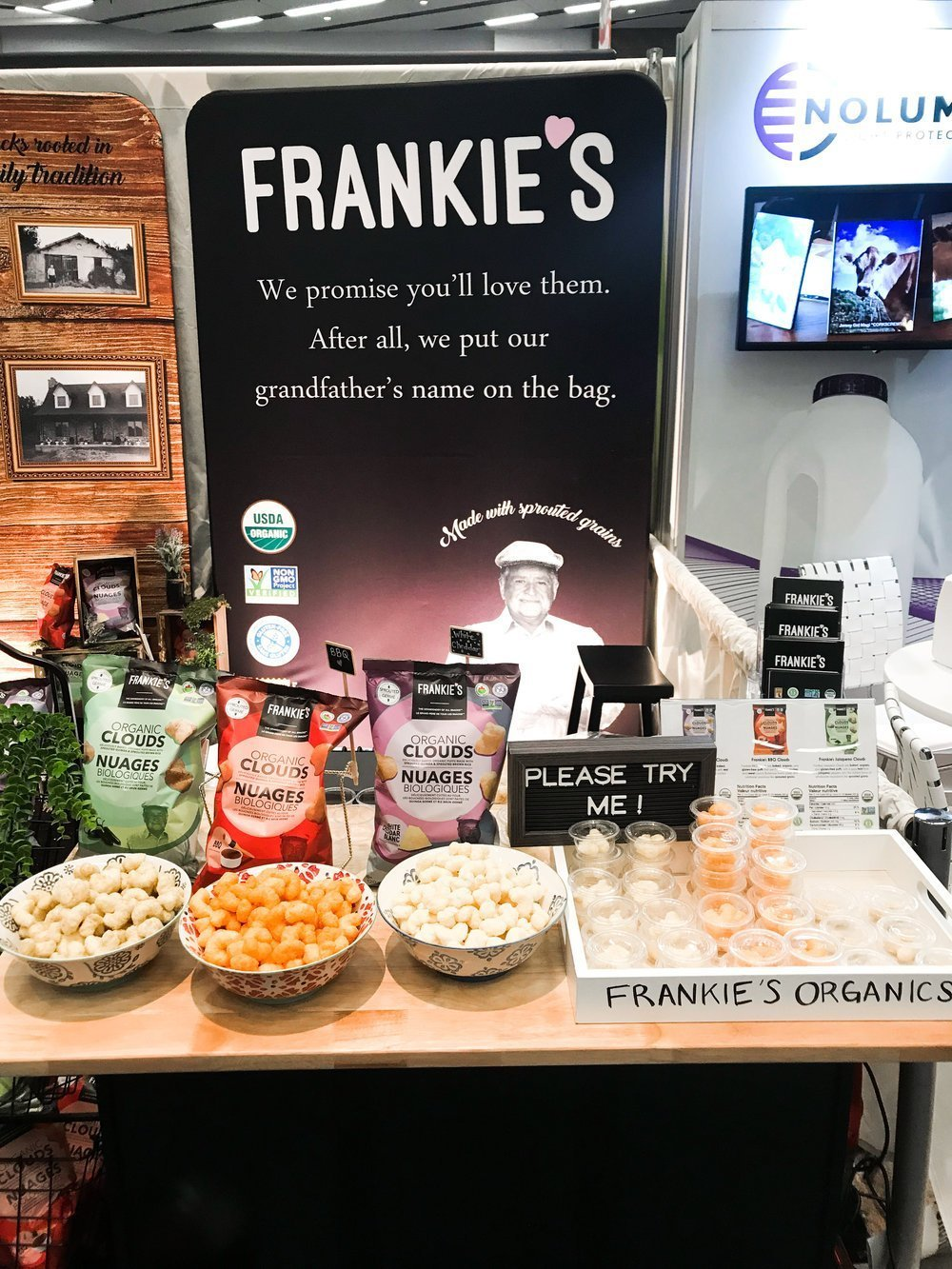 Frankies Natural Products Expo West