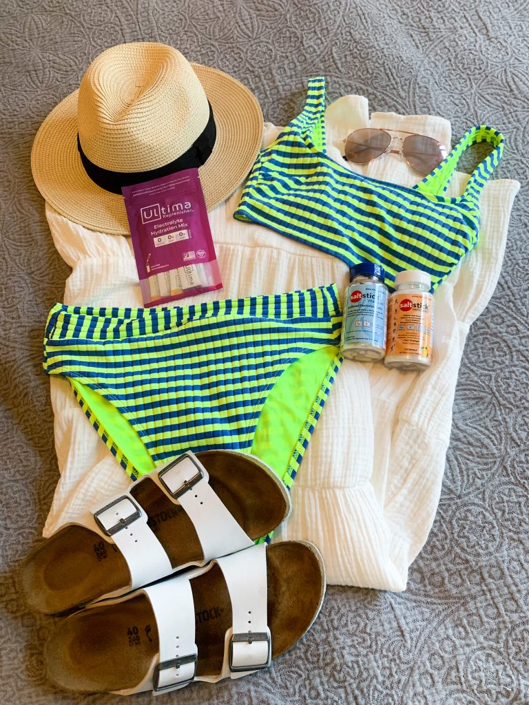 packing for my vacation to hawaii